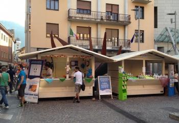 Casetta sponsor Feste Vigiliane di Trento