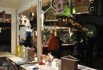Casette al Mercatino di Natale di Cavalese