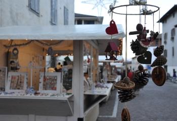 Casette al Mercatino di Natale di Caldonazzo